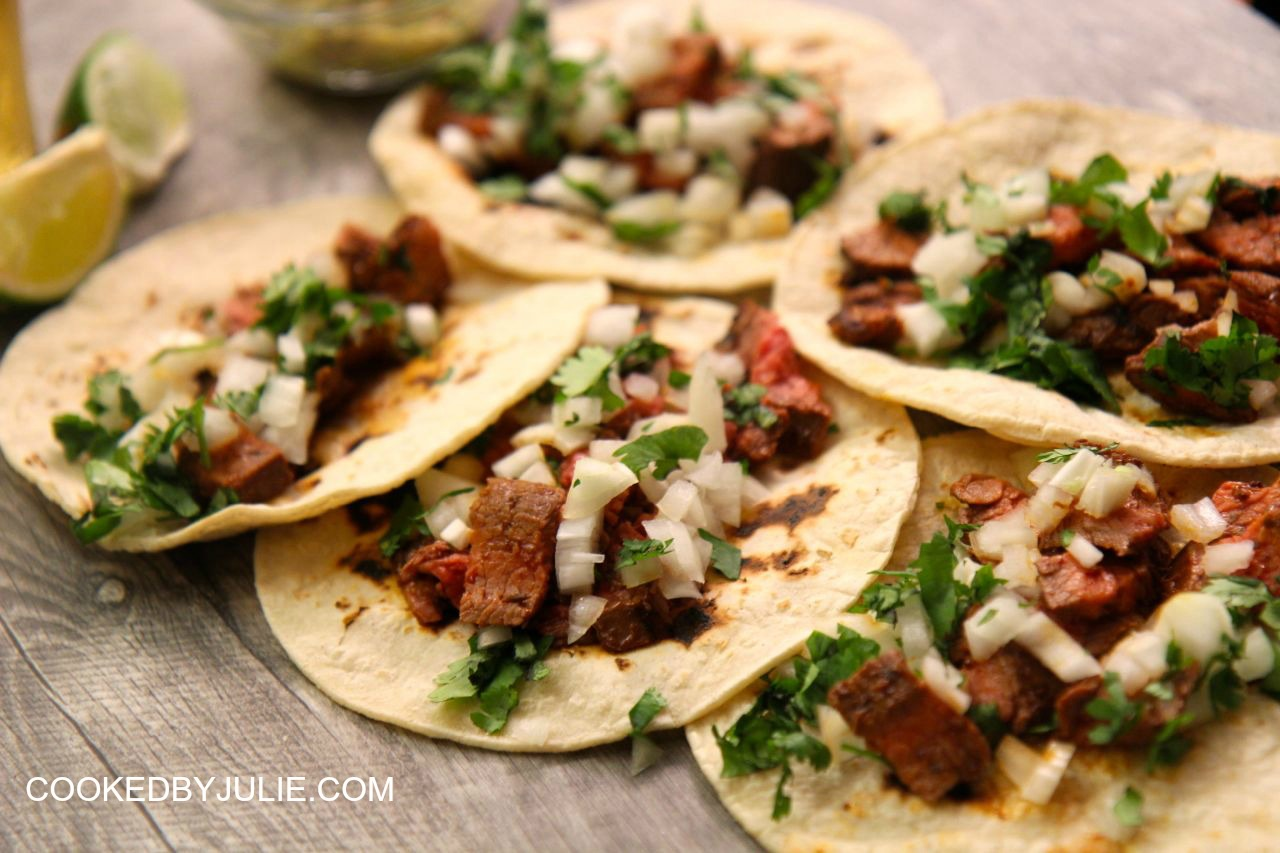 how to make asada tacos