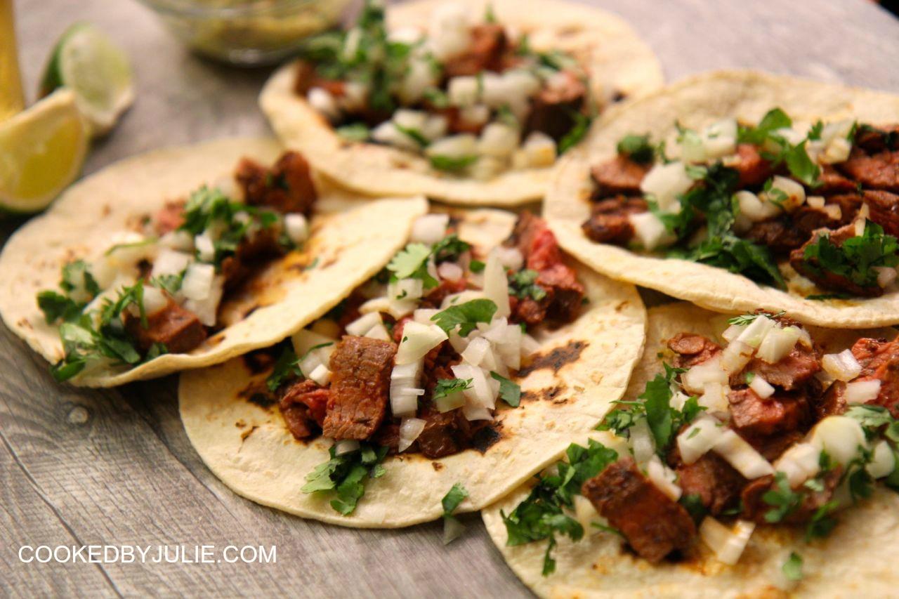 how to make asada tacos