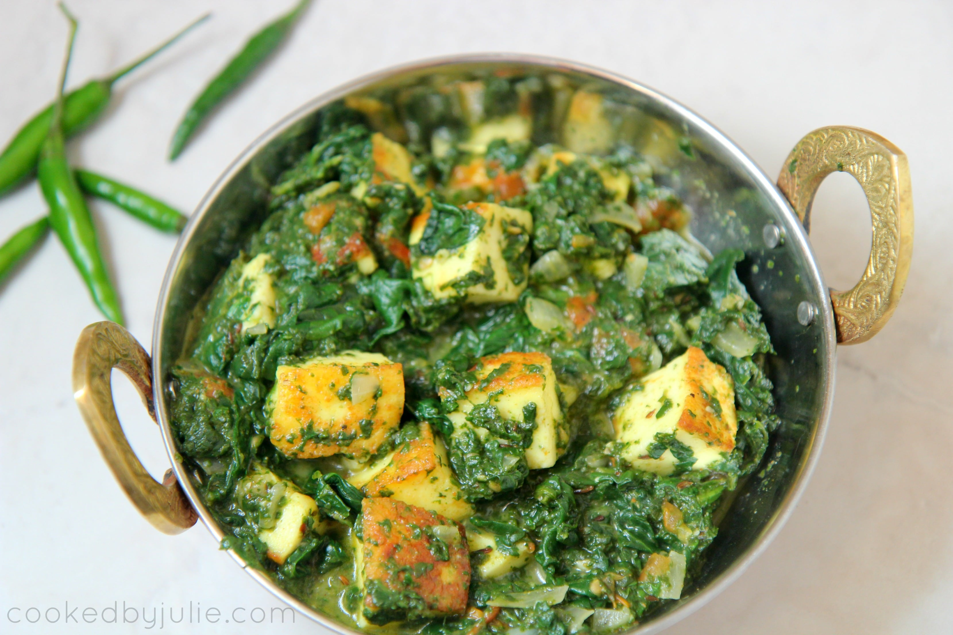 Saag Paneer Keto Friendly Gluten Free Cooked By Julie Video