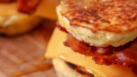 Mcgriddle Sandwich Keto And Sugar Free Cooked By Julie