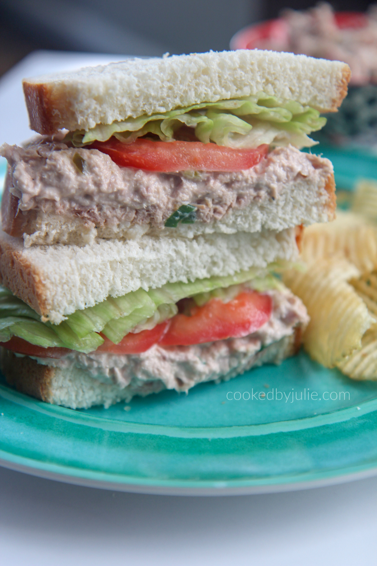Easy Tuna Salad Sandwich Video Cooked By Julie