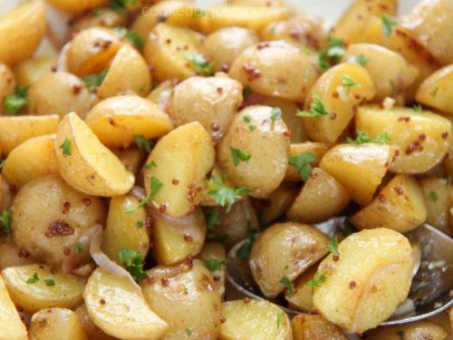 Potato Salad With Honey Mustard Vinaigrette