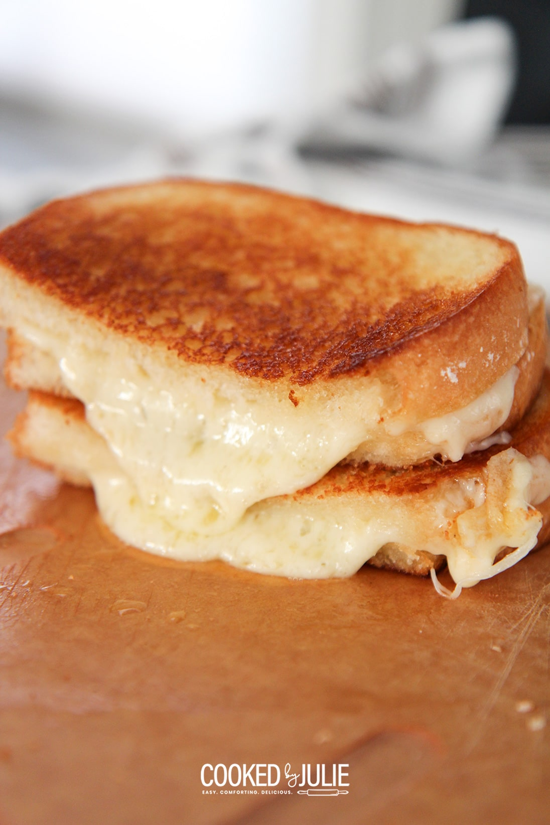 The Perfect Grilled Cheese Sandwich Cooked By Julie