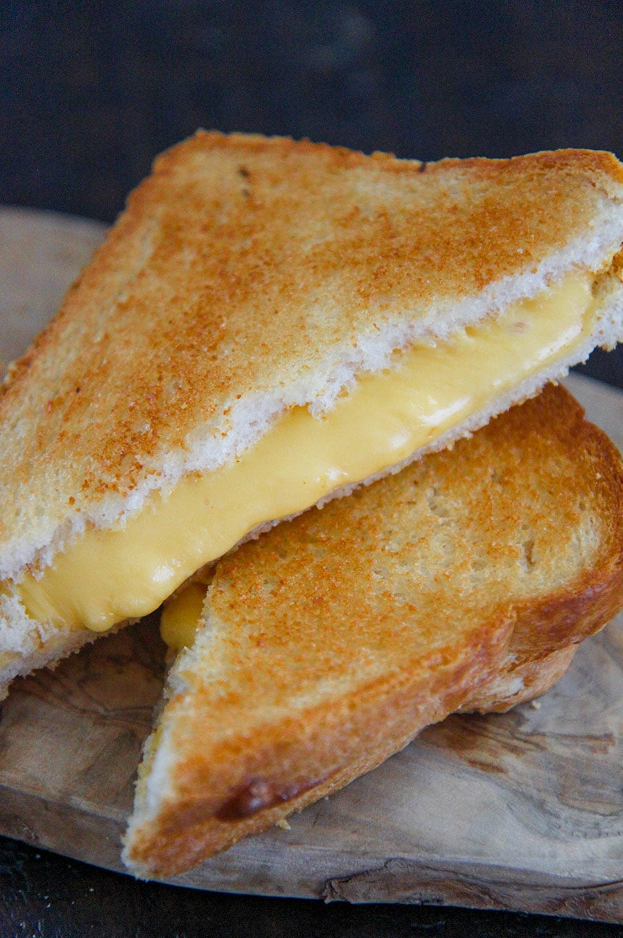 Air Fryer Grilled Cheese Cooked By Julie